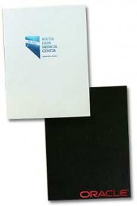 foil stamped folders