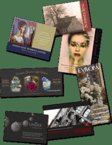 Full color postcards